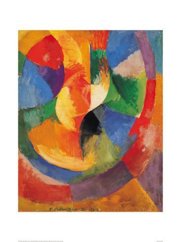 Formes Circulaires-Soleil #3 Giclee Print