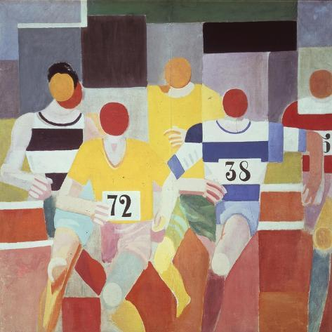 Les Coureurs (The Runners), 1925-26 Giclee Print