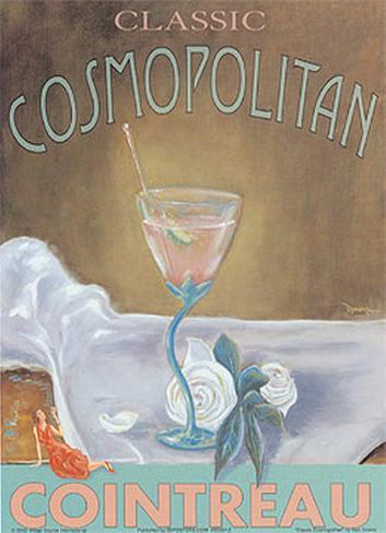 Classic Cosmopolitan Art Print