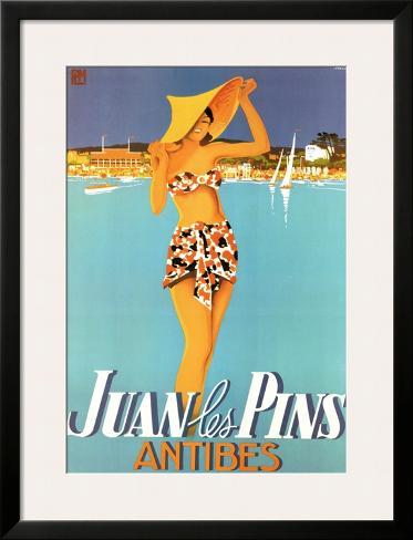 Juan Les Pins Framed Art Print