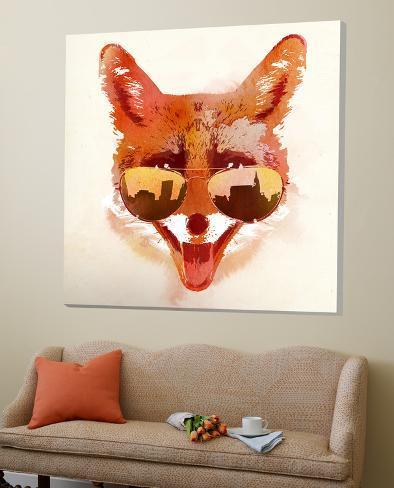 Big Town Fox Loft Art