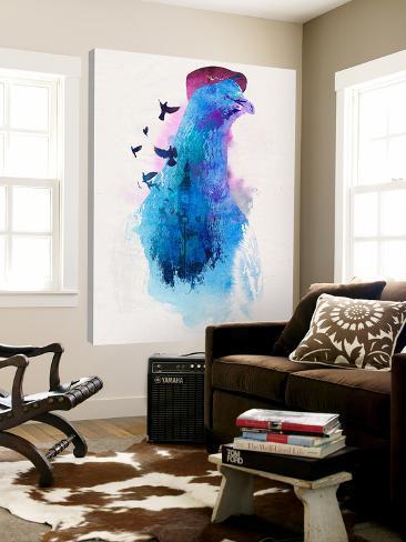 Everybody Flies to London Loft Art