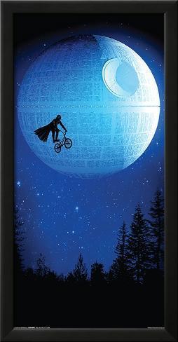 Robert Farkas- Dark Ride LAMINAフレーム入りポスター
