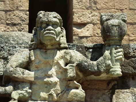 The Mayan Rain God Chac, Western Highlands, Honduras Photographic Print