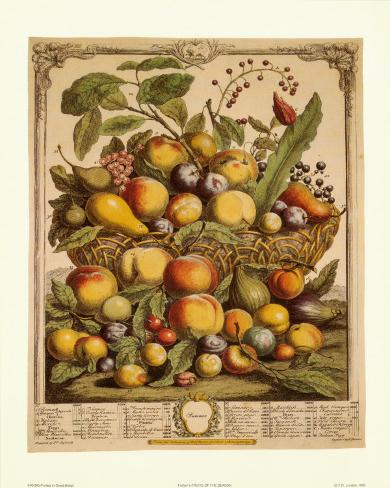 Fruits of the Season, Summer Taidevedos