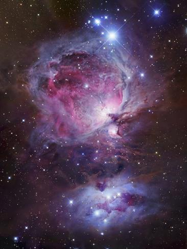 M42, the Great Nebula in Orion Photographic Print