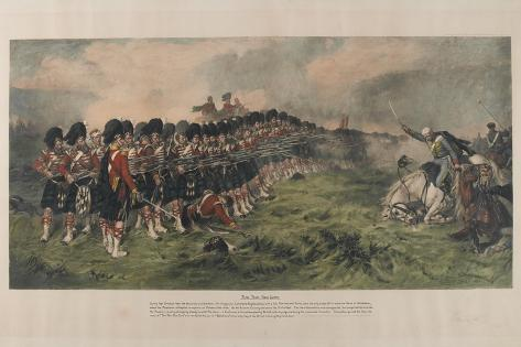 The Thin Red Line, Published 1883 Giclee Print