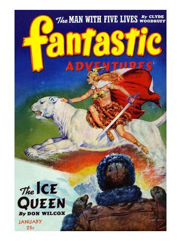 The Ice Queen Art Print