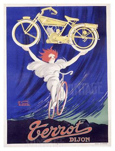 Terrot and Cie Motorcycle Giclee Print
