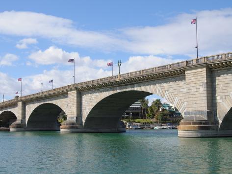 London Bridge, Lake Havasu City, Arizona, United States of America, North America Photographic Print