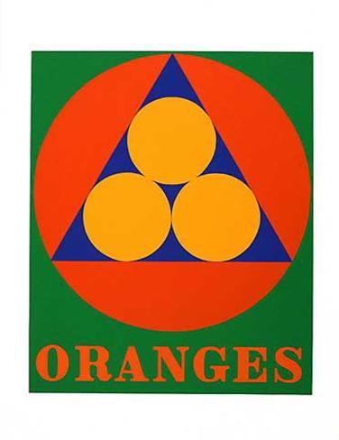 No. 3 Oranges (from the American Dream Portfolio) Serigrafia
