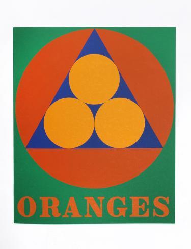 Oranges (from the American Dream Portfolio) Serigrafia