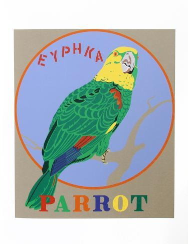 Parrot (from the American Dream Portfolio) Serigrafia