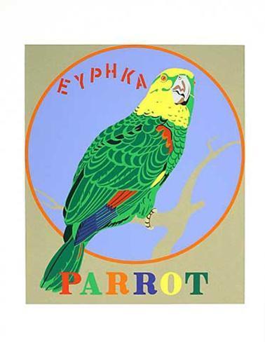 Parrot (from the American Dream Portfolio) Serigrafia
