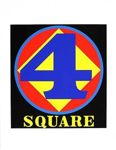 Polygon Square (from the American Dream Portfolio) Serigrafia