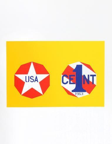 The New Glory Penny (from the American Dream Portfolio) Serigrafia