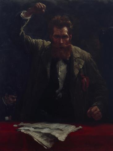 The Socialist, 1885 Giclee Print