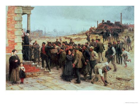 The Strike, 1886 Giclee Print