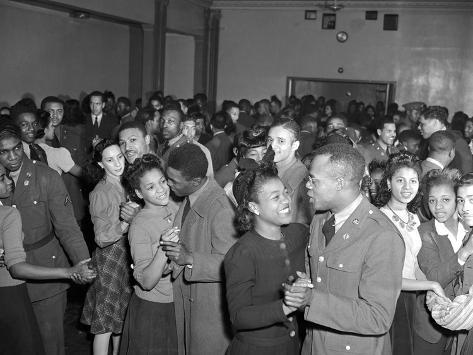 WWII USO New York Dance Party Photographic Print