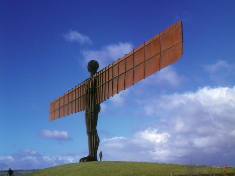 Angel of the North, Gateshead, Tyne and Wear, England Photographic Print