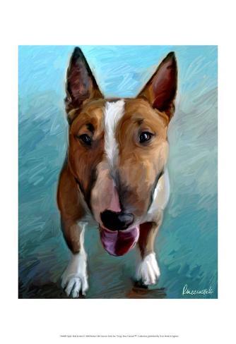 Spike Bull Terrier Framed Art Print