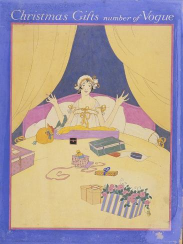 Vogue - December 1915 Stampa giclée premium