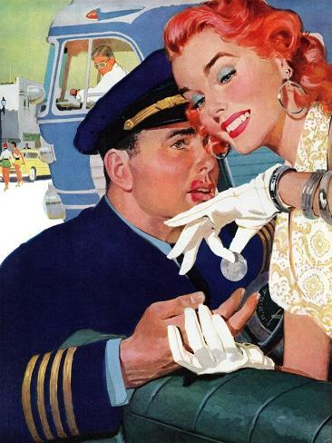 The Pilot Hated Stewardesses - Saturday Evening Post