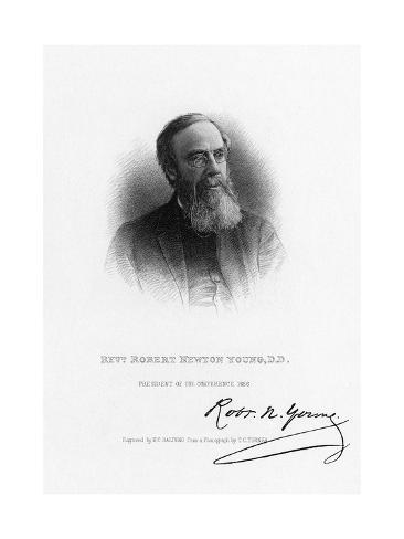 Robert Newton Young Stampa giclée