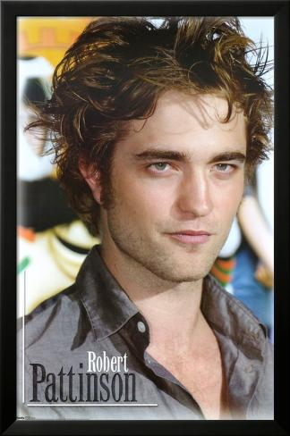 Robert Pattinson Inramad laminerad poster