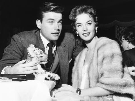 Robert Wagner and Natalie Wood, Mid 1950S Photo