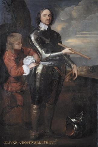 Oliver Cromwell (1599-1658) Lord Protector of England, C.1650 Giclee Print