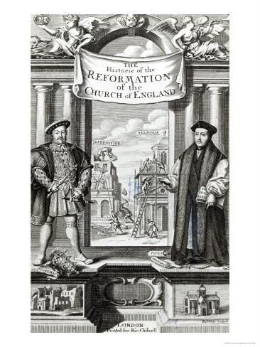 Titlepage of The History of the Reformation of the Church of England Giclee Print