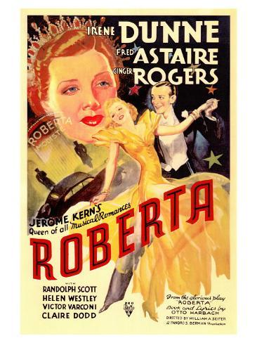 Roberta, 1935 Konstprint