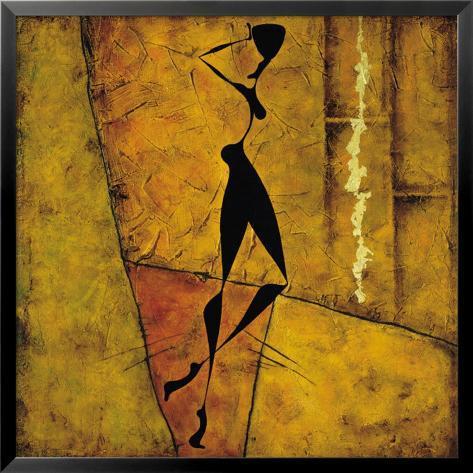 Voleva Sola Andare Lamina Framed Art Print