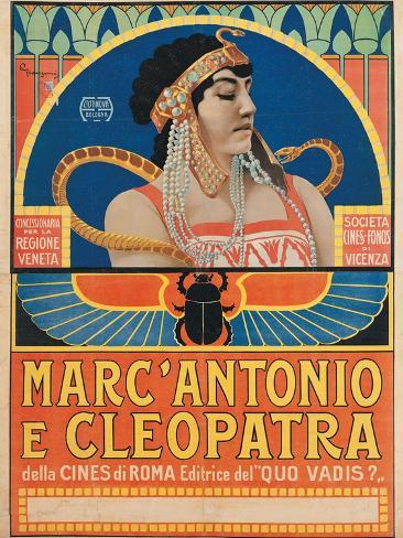 Antony and Cleopatra (1913) Art Print