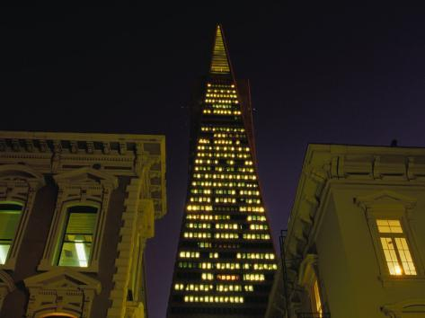 Transamerica Pyramid, San Francisco, California, USA Photographic Print