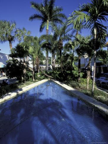 Lincoln Road, South Beach, Miami, Florida, USA Photographic Print