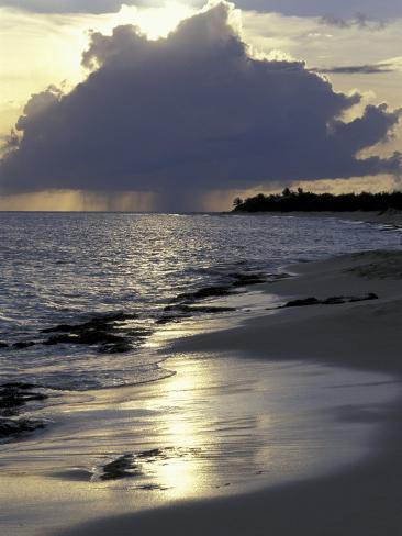 Rouge Beach on St. Martin, Caribbean Photographic Print