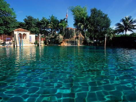 Venetian Pool, Coral Gables, Miami, FL Photographic Print