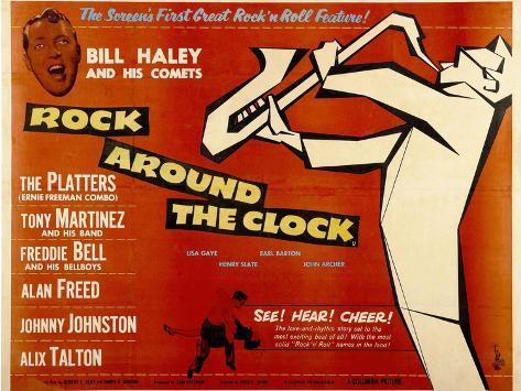 Rock Around the Clock, 1956 Art Print