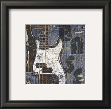Rock Concert III Framed Art Print