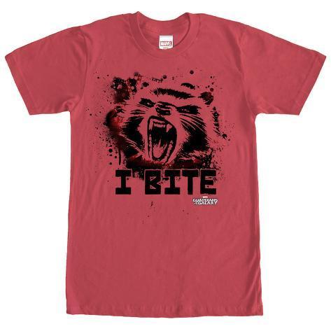 Rocket Racoon- Furry Bite T-Shirt