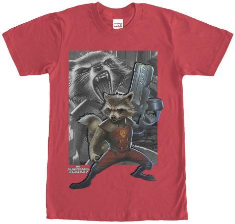 Rocket Racoon- Racoon Gun T-Shirt