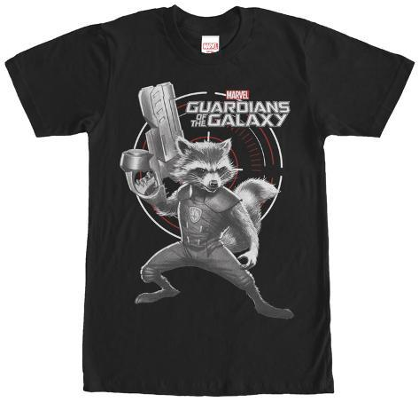 Rocket Racoon- Shocking Target T-Shirt