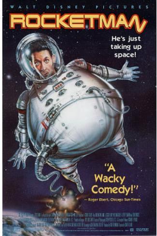 Rocketman Movie Harland Williams Original Poster Print Original Poster