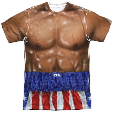 Rocky- Apollo Creed Costume Sublimated