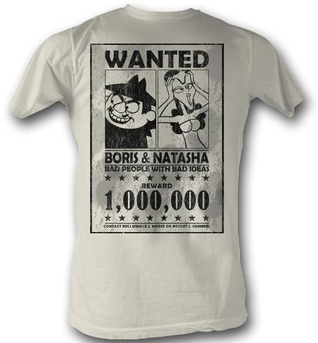 Rocky & Bullwinkle - Wanted T-Shirt