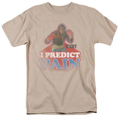 Rocky - I Predict Pain T-Shirt