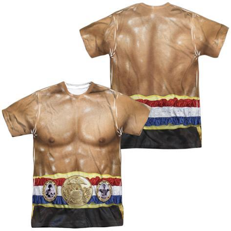 Rocky- Italian Stalion Costume Tee (Front/Back) Sublimated
