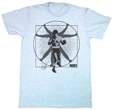 Rocky - Vitruvian Rocky T-Shirt